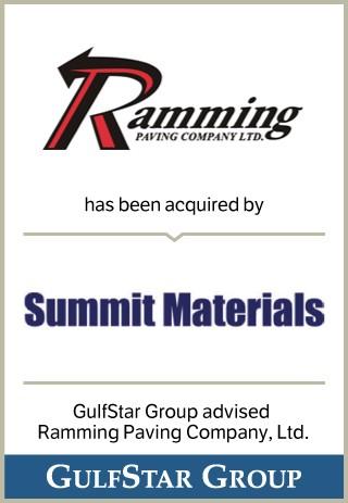 Ramming Paving – GulfStar Group